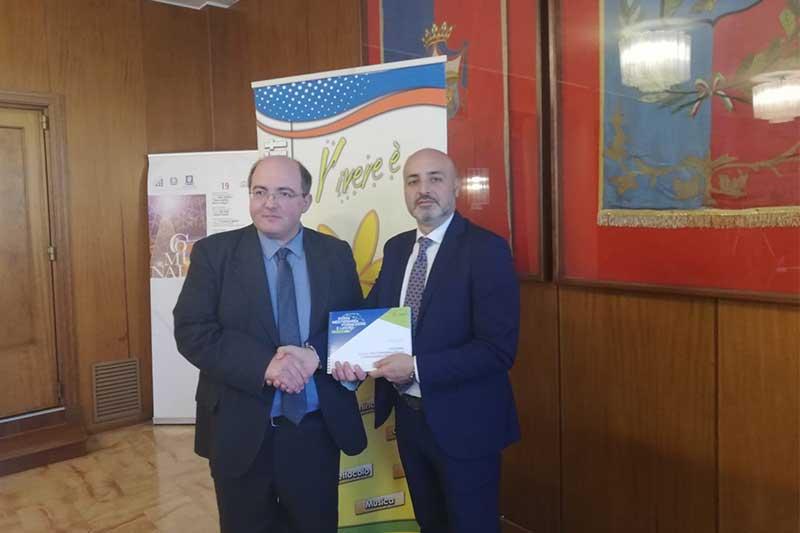 Presentata la Borsa Mediterranea della Formazione e del Lavoro alla conferenza del Festival della Vita a Caserta